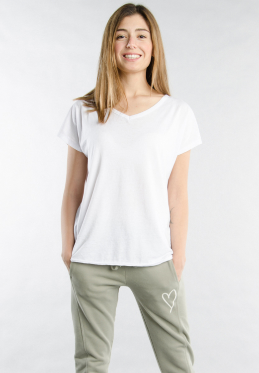 T-SHIRT V-NECK BIG